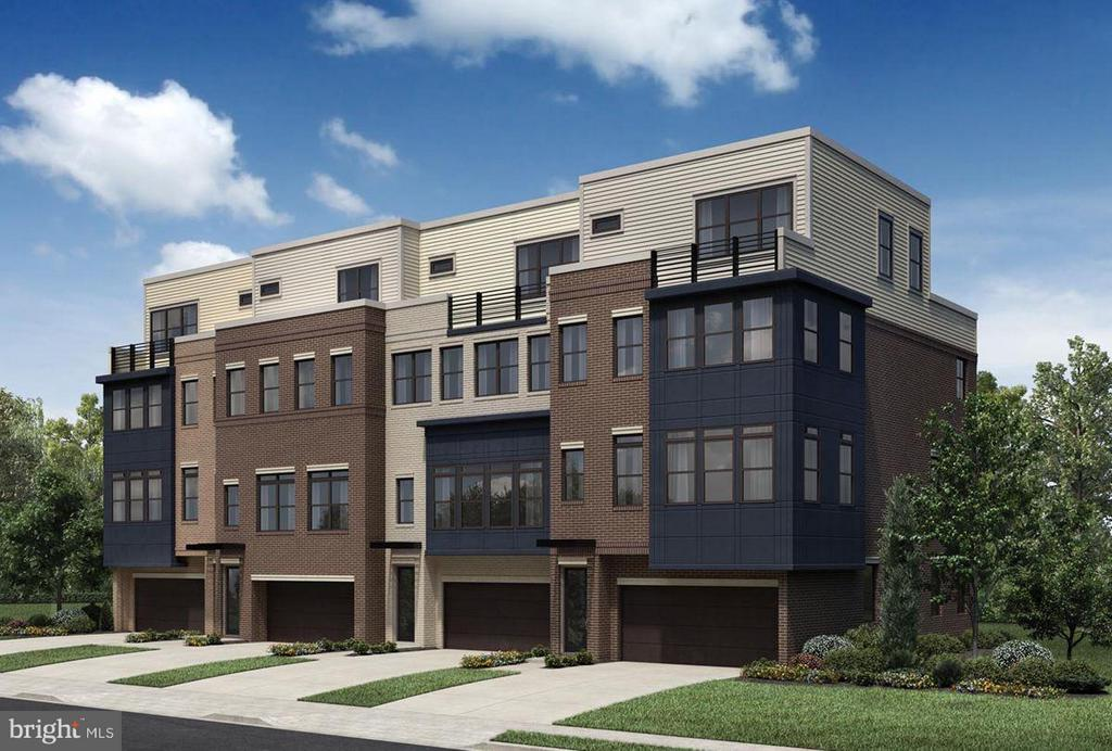 Gramercy Park New Haven Exterior (Front) - 42500 MILDRED LANDING SQ, ASHBURN
