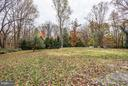 Mature & flowering trees dot the flat/rolling lot - 8110 GEORGETOWN PIKE, MCLEAN