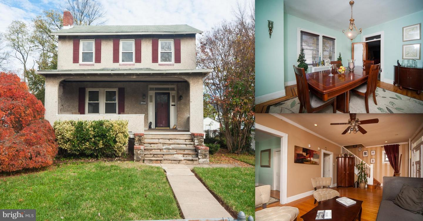 Single Family for Sale at 5514 Wesley Ave Baltimore, Maryland 21207 United States