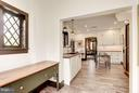 Kitchen - Retains the charm of the home - 8110 GEORGETOWN PIKE, MCLEAN