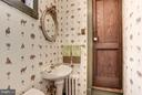 Powder Room - 8110 GEORGETOWN PIKE, MCLEAN