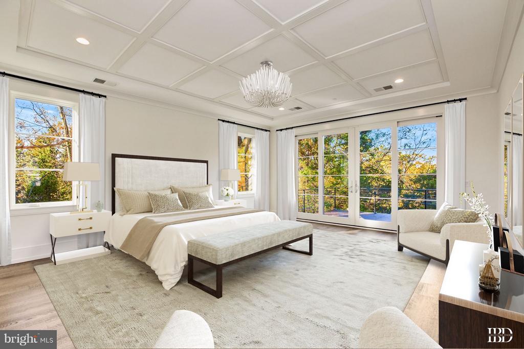 Master Bedroom - 3006 UNIVERSITY TER NW, WASHINGTON