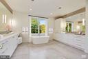 Master Bath - 3006 UNIVERSITY TER NW, WASHINGTON