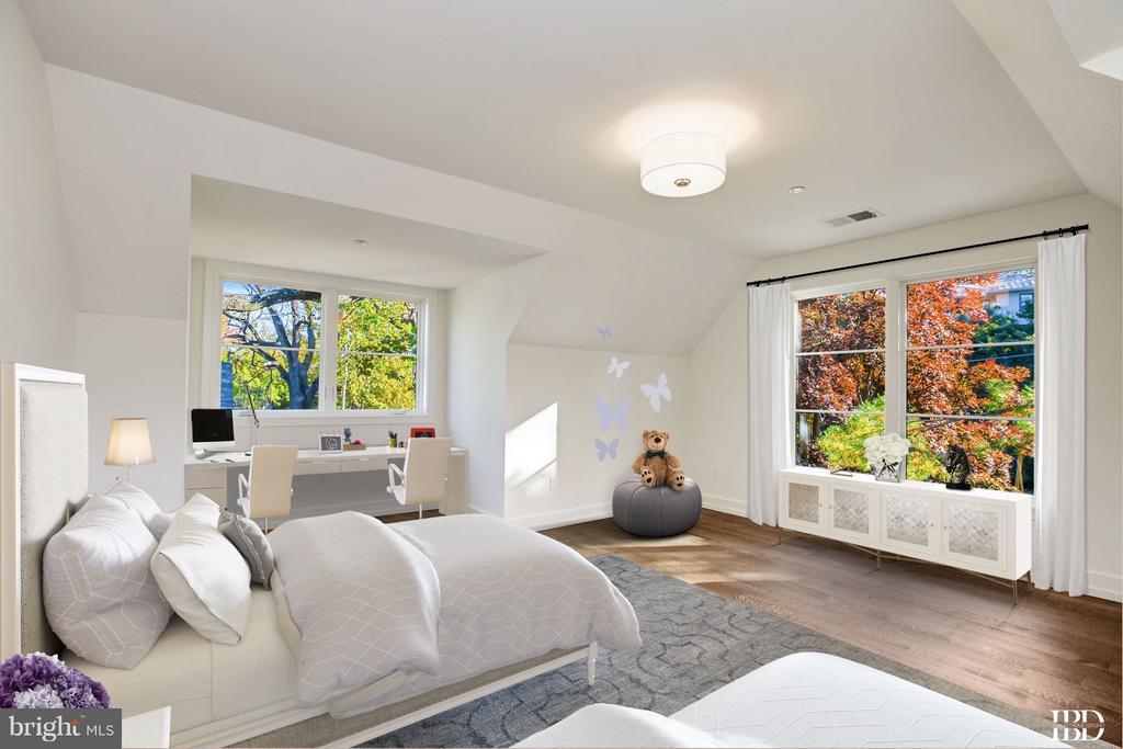 Fourth Bedroom - 3006 UNIVERSITY TER NW, WASHINGTON