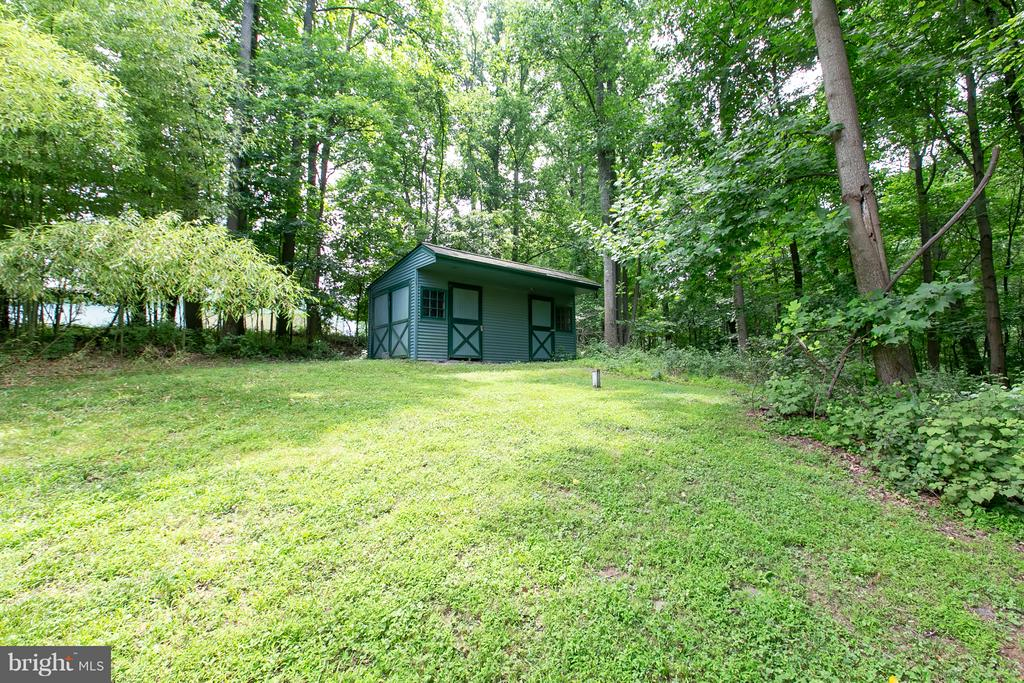 Sheds and Stalls located on property - 16808 OAK HILL RD, SILVER SPRING