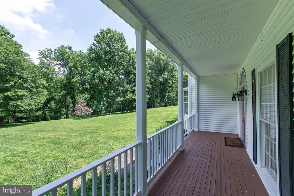 Lower Level Covered Porch Entryway - 16808 OAK HILL RD, SILVER SPRING
