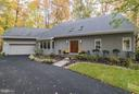 Exterior Front showing refinished doors/new roof - 11903 TRIPLE CROWN RD, RESTON