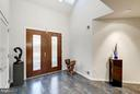 Foyer / Reception with vaulted ceiling - 11903 TRIPLE CROWN RD, RESTON