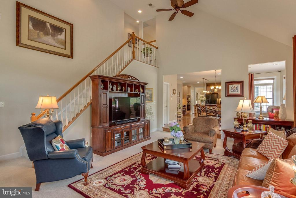 Family Room - 3428 LOGSTONE DR, TRIANGLE