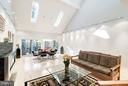 Combination living / dining with  gallery walls - 11903 TRIPLE CROWN RD, RESTON