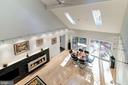 Overlook to Living / Dining Rooms - 11903 TRIPLE CROWN RD, RESTON
