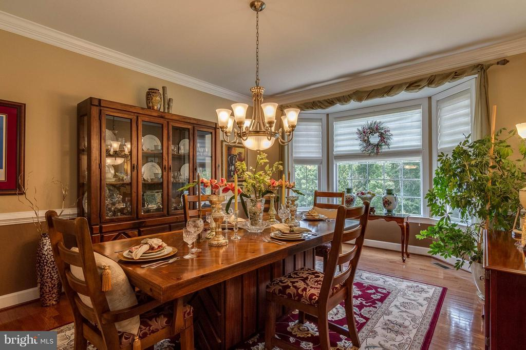 Dining Room - 3428 LOGSTONE DR, TRIANGLE
