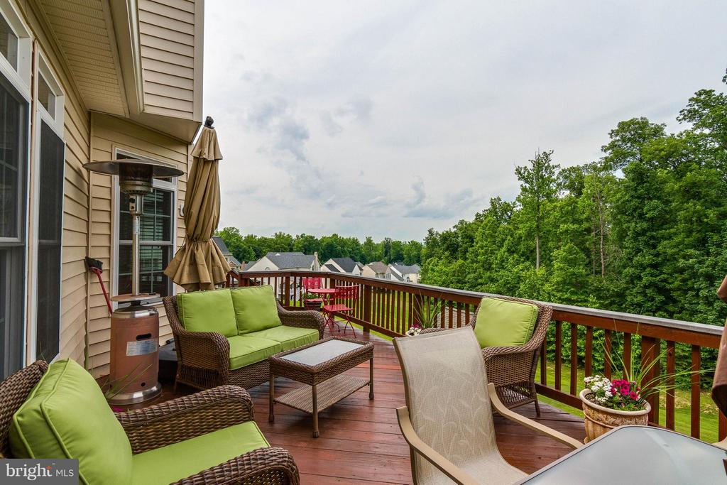Deck - 3428 LOGSTONE DR, TRIANGLE