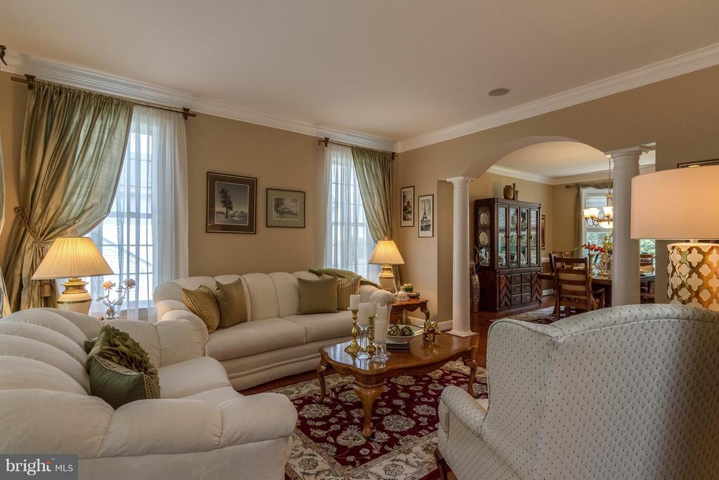 Formal Living Room - 3428 LOGSTONE DR, TRIANGLE