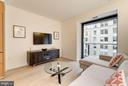 Living Room - 925 H ST NW #708, WASHINGTON