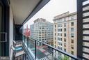 Balcony - 925 H ST NW #708, WASHINGTON