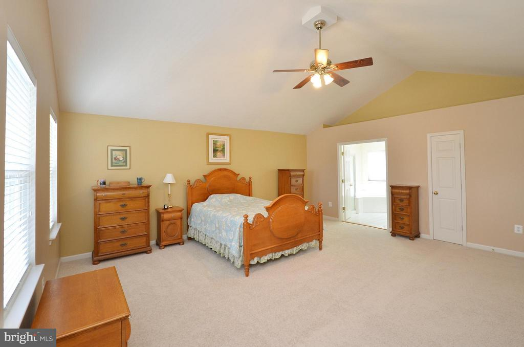 Spacious Master Bedroom with Cathedral Ceiling - 20532 DEERWATCH PL, ASHBURN