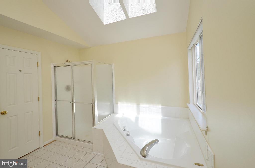 Master Bathroom with Soaking Tub and Shower - 20532 DEERWATCH PL, ASHBURN