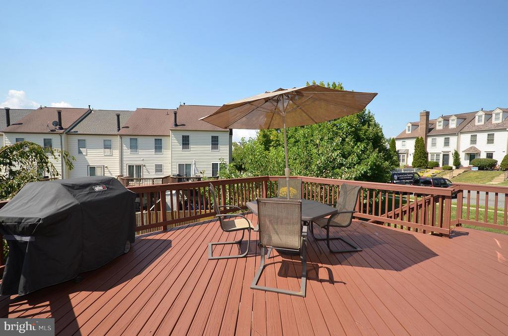 Large Deck Great for Entertaining - 44067 LACEYVILLE TER, ASHBURN