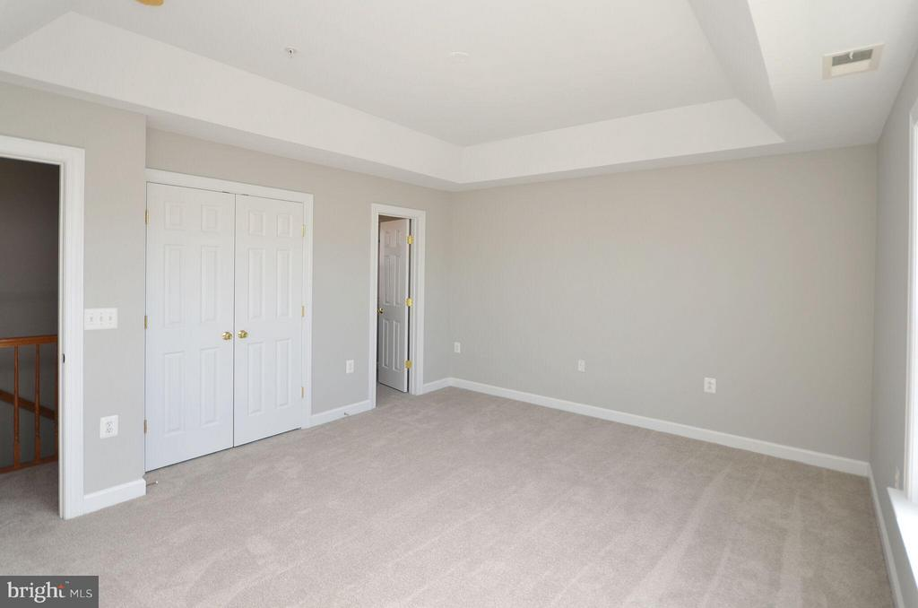 Master Bedroom with New Carpet - 13685 VENTURI LN #240, HERNDON