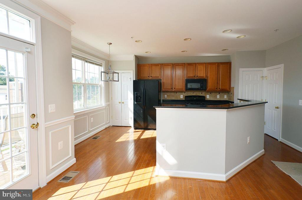 Great Kitchen with Granite Counters - 13685 VENTURI LN #240, HERNDON