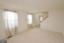 Separate Living Room - 1309 BEECH RD, STERLING