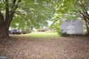 Backyard - 1309 BEECH RD, STERLING
