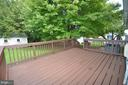 Great Deck off Family Room - 1309 BEECH RD, STERLING