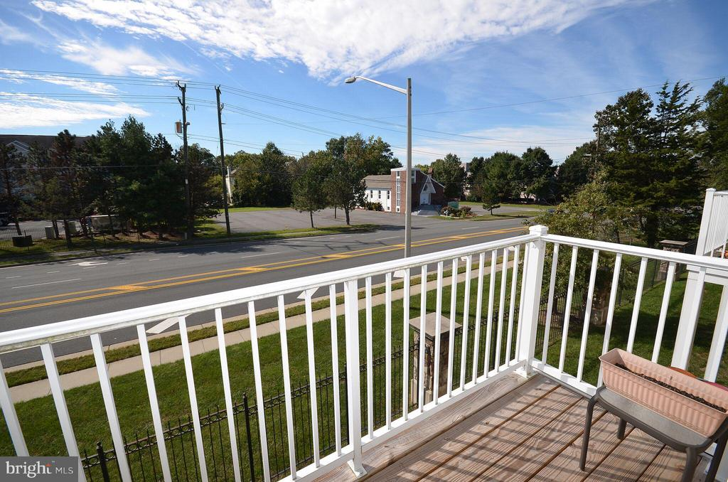 Balcony off the Kitchen - 13685 VENTURI LN #240, HERNDON