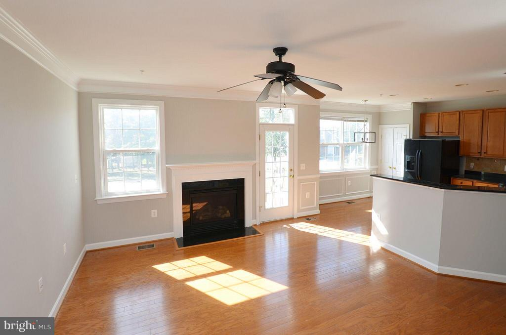 Spacious Family Room off the Kitchen - 13685 VENTURI LN #240, HERNDON