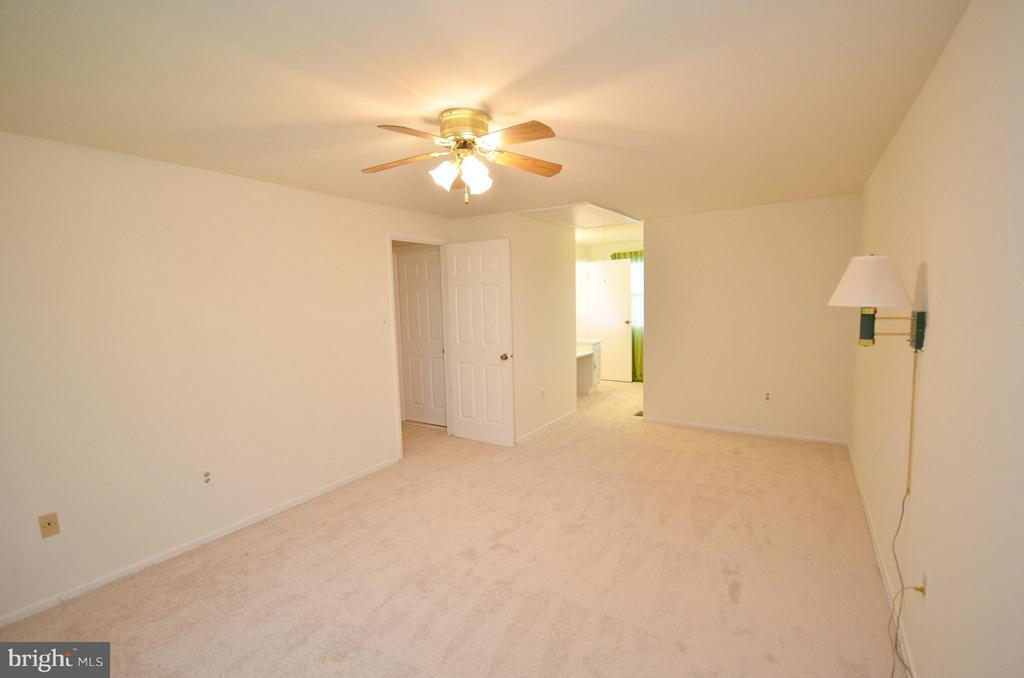 Master Bedroom with New Carpet - 1309 BEECH RD, STERLING