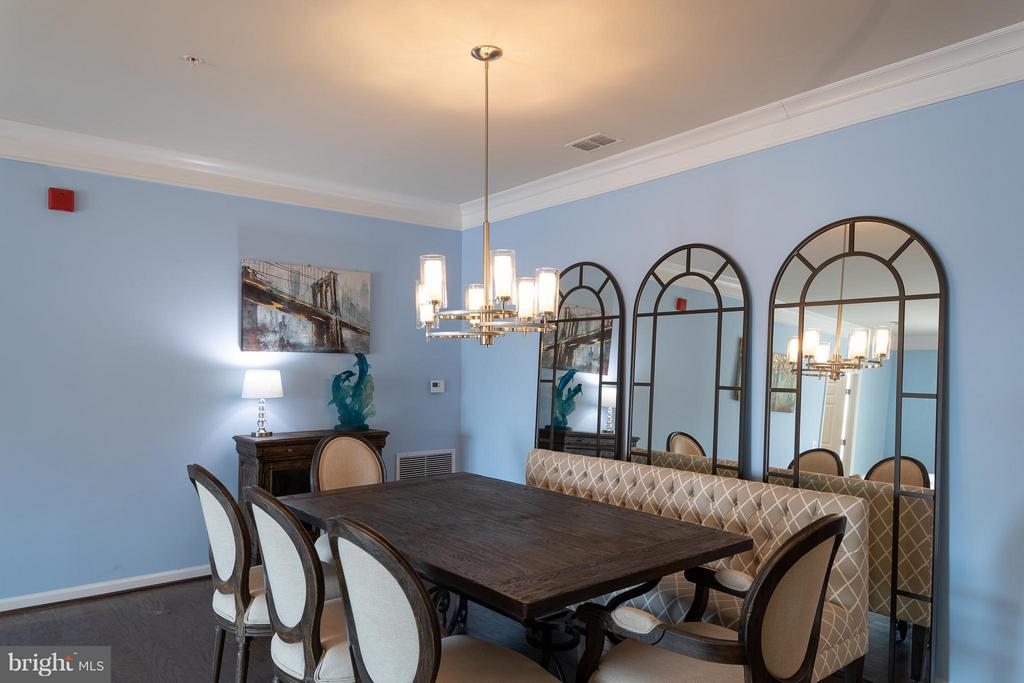Dining Room - 20505 LITTLE CREEK TER #306, ASHBURN