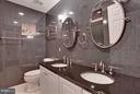 Oversize shower,  marble walls/counters, heat lamp - 43154 PARKERS RIDGE DR, LEESBURG