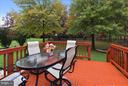 Beautiful deck to large yard, backs to common area - 43154 PARKERS RIDGE DR, LEESBURG