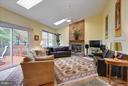 High ceilings, skylights, stone and gas fireplace - 43154 PARKERS RIDGE DR, LEESBURG