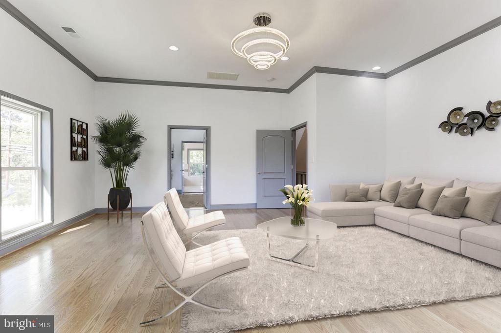 Family Room - 6430 27TH ST N, ARLINGTON