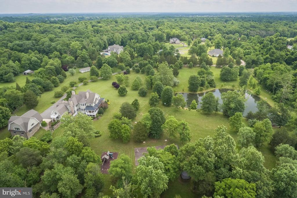 Aerial View - 14422 LIGHTNER RD, HAYMARKET