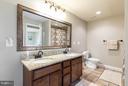 Full Basement Bath - 40727 LOVETTSVILLE RD, LOVETTSVILLE
