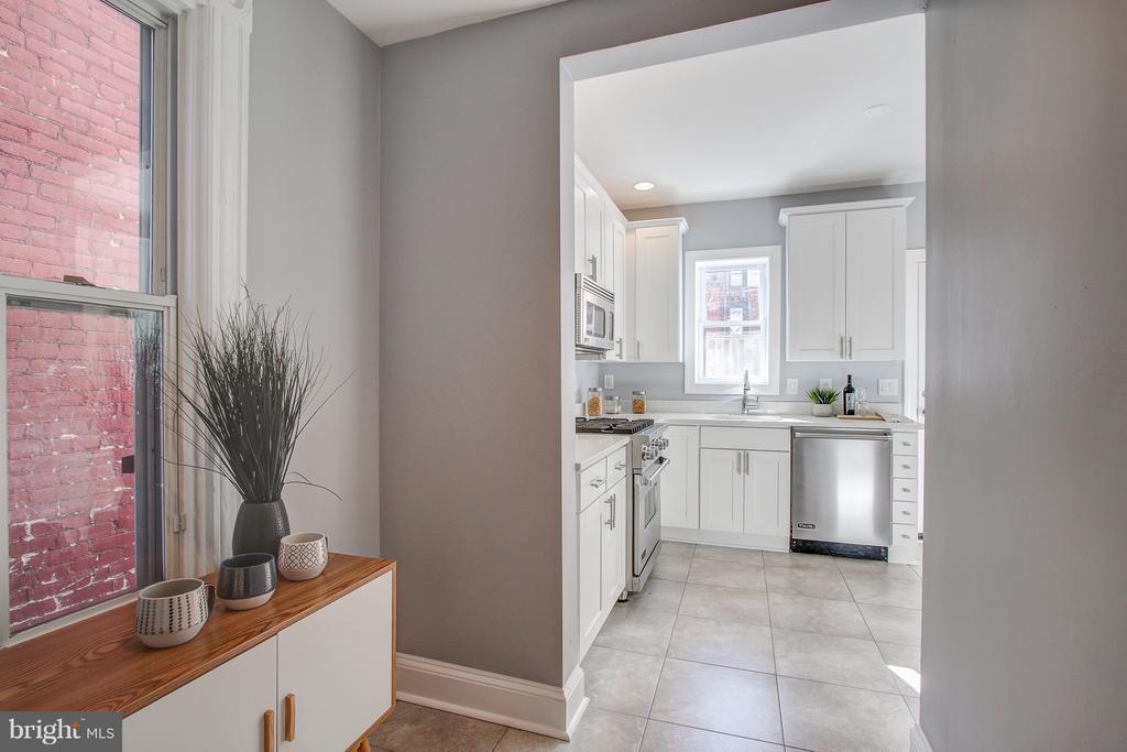 Entrance into kitchen - 948 WESTMINSTER ST NW, WASHINGTON