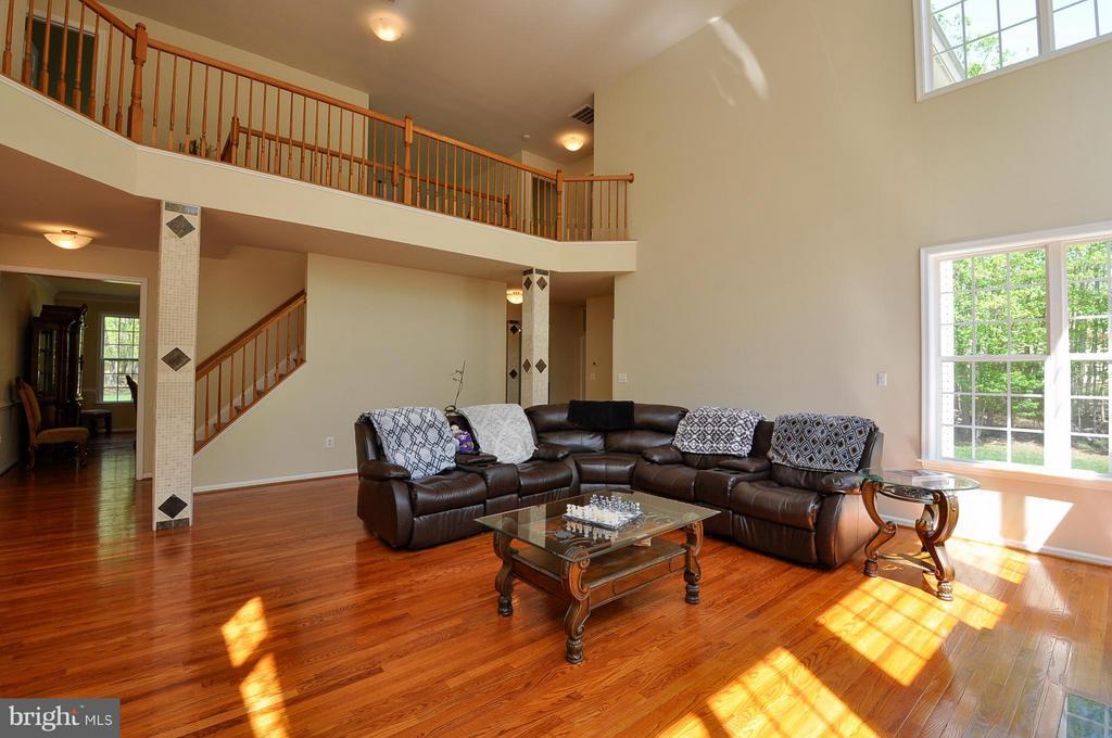 2 story family room - 11300 HONOR BRIDGE FARM CT, SPOTSYLVANIA