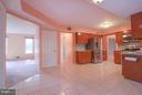 Tray Ceiling and Eat In Area - 402 AUTUMN OLIVE WAY, STERLING