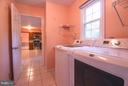 Updated Washer and Dryer - 402 AUTUMN OLIVE WAY, STERLING