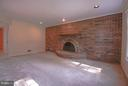 Family Room Hosts Large Brick wall/ Fireplace - 402 AUTUMN OLIVE WAY, STERLING