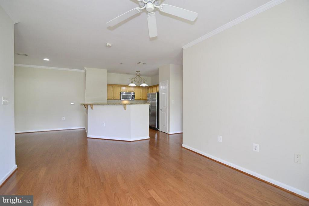 Living Room - 5124 BRITTNEY ELYSE CIR #B, CENTREVILLE