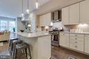 A versatile kitchen island. - 630 14TH ST NE #3, WASHINGTON