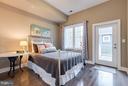 Bedroom # 2. Private entry to balcony. - 630 14TH ST NE #3, WASHINGTON