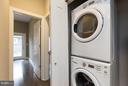 Washer and dryer in unit. - 630 14TH ST NE #3, WASHINGTON