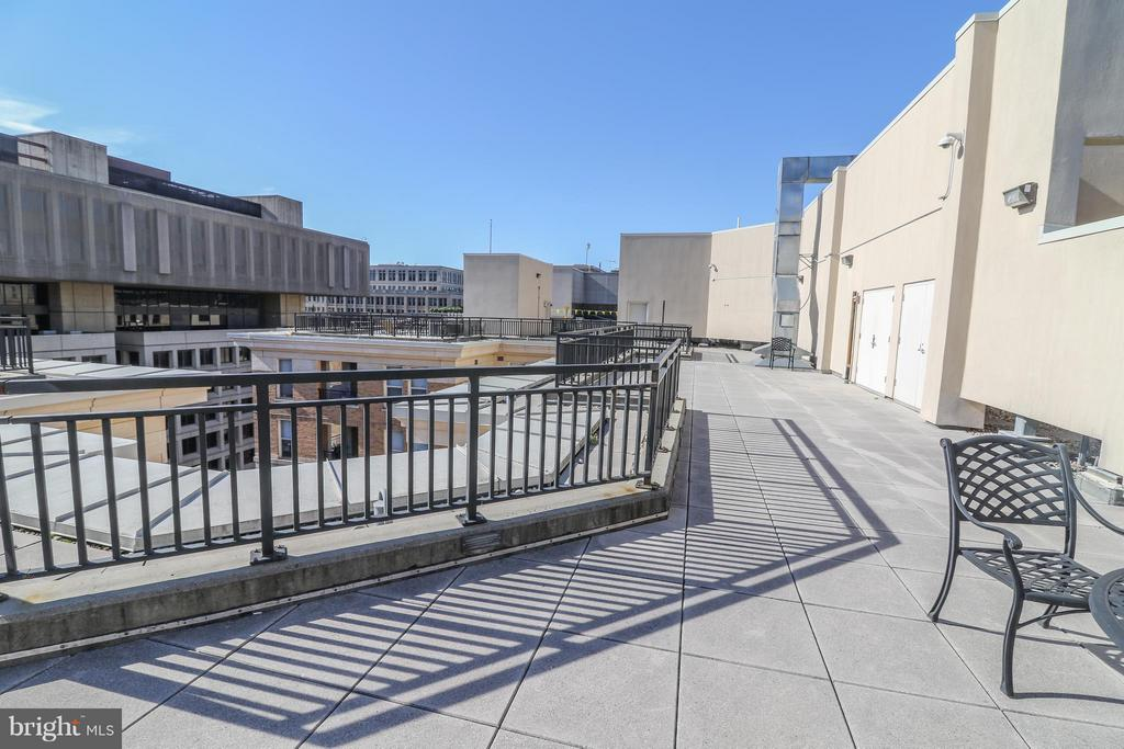 Lots of outdoor space on the roof - 915 E ST NW #306, WASHINGTON