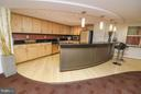 Kitchen bar area in lounge to host private events - 915 E ST NW #306, WASHINGTON
