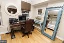 Room to create a home office - 915 E ST NW #306, WASHINGTON